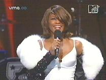 Whitney Houston Thanks Audience For Standing Ovation